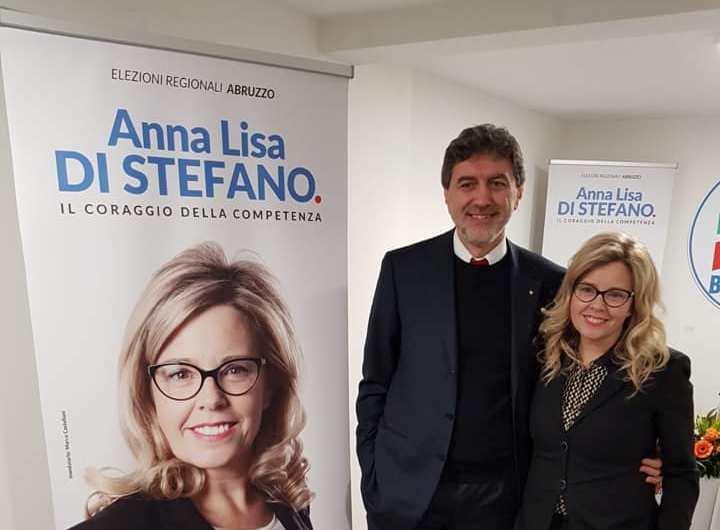 """Affermazione per Anna Lisa Di Stefano candidata alla Regione con Forza Italia: """"L'Abruzzo diventi un grande laboratorio di crescita"""""""
