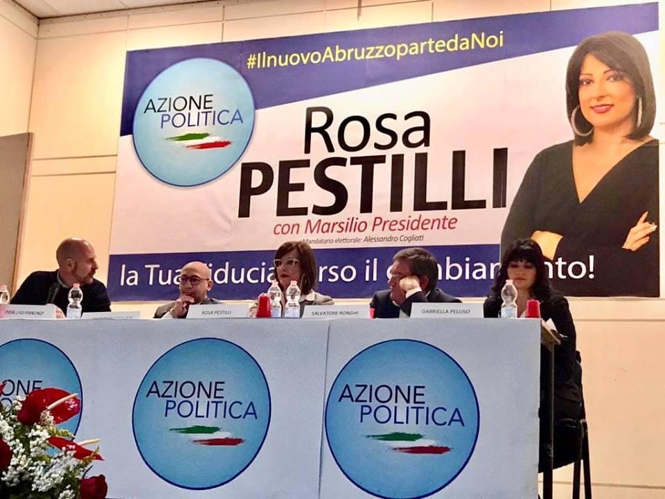 """Pubblico delle grandi occasioni ad Avezzano per Rosa Pestilli: """"imprese 4.0 e nuove opportunità"""""""